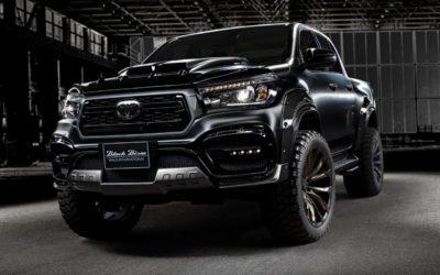Le nouveau Toyota Hilux Black Bison, le baroudeur ténébreux