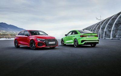 Audi présente la nouvelle RS3 (2021)